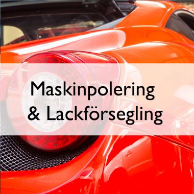 Maskinpolering och lackförsegling